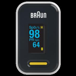Braun Pulse Oximeter display